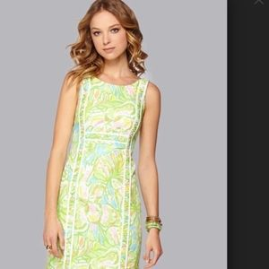 Lilly Pulitzer Fryer Shift Dress Elephant Ears